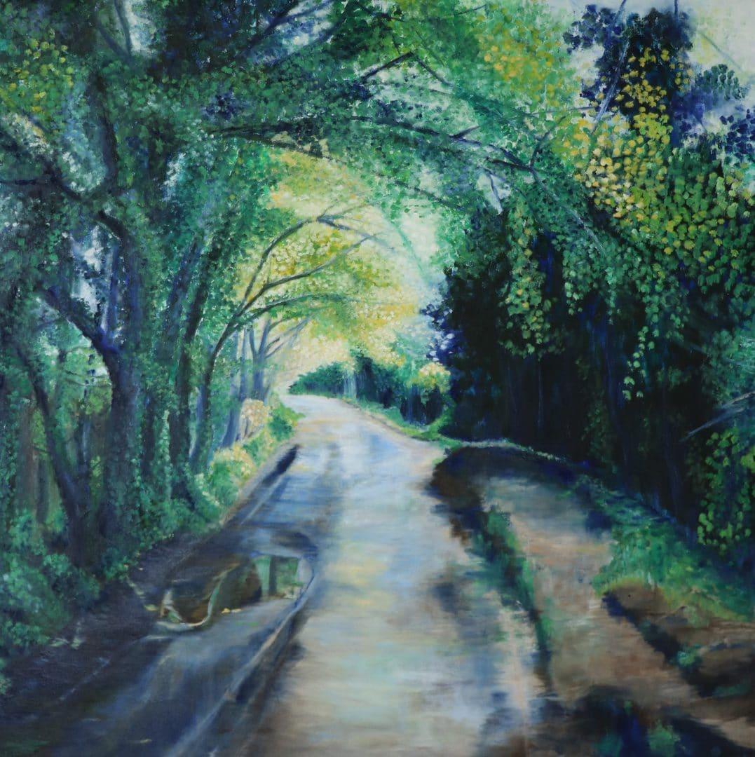 Silence, 2021 (oil on canvas, 80x80cm)